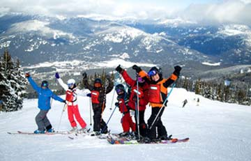 the ski school at whistler