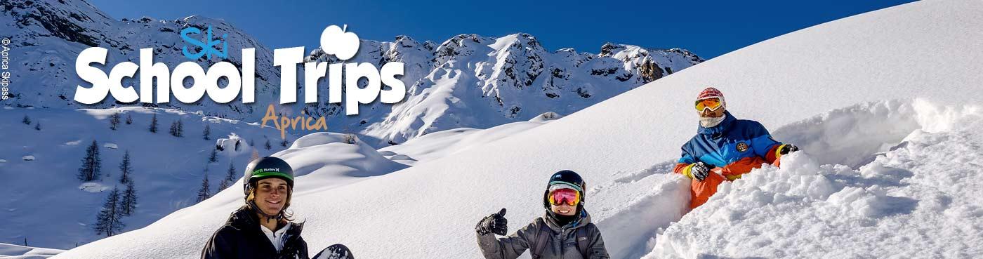Aprica school ski trips