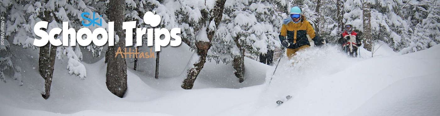 Attitash school ski trips