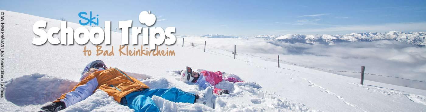 Bad Kleinkirchheim school ski trips