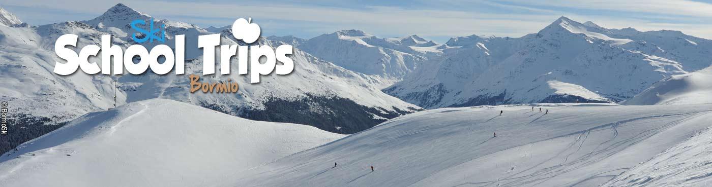 Bormio school ski trips