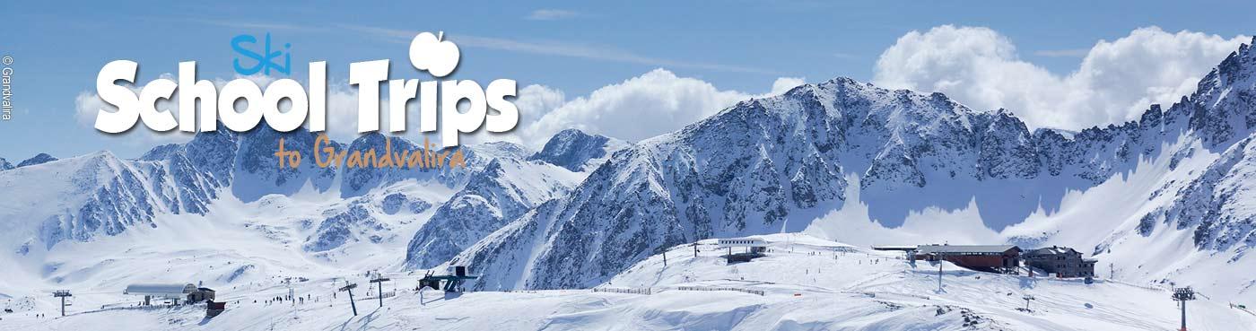 Grandvalira school ski trips