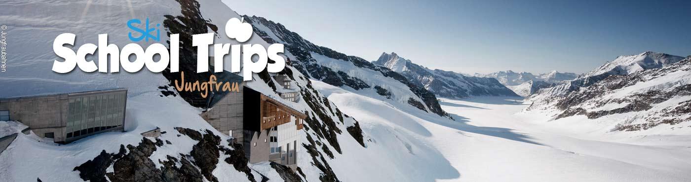 Jungfrau school ski trips