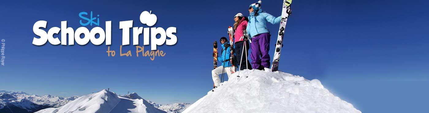 La Plagne school ski trips