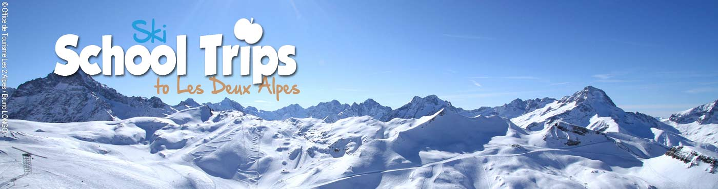 Les Deux Alpes school ski trips