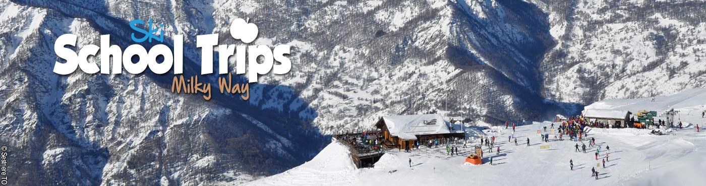 Milky Way school ski trips