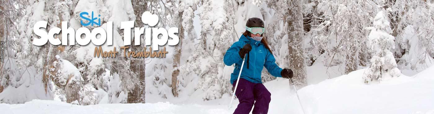 Mont Tremblant school ski trips