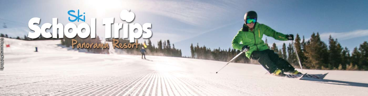 Panorama Resort school ski trips