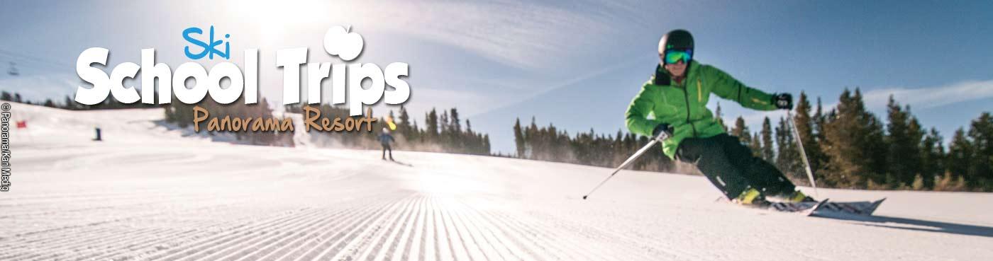 Panorama Resort school ski trips