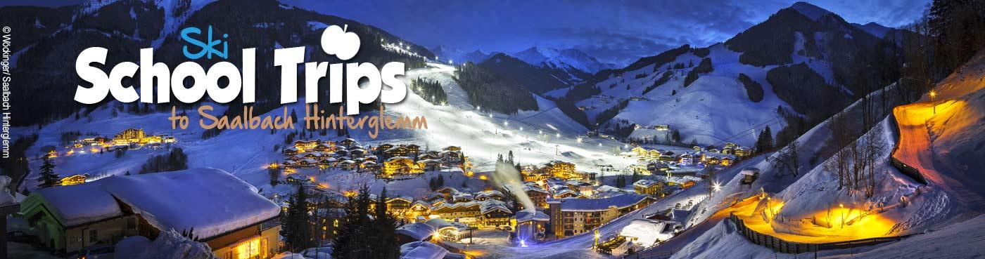 Saalbach Hinterglemm school ski trips