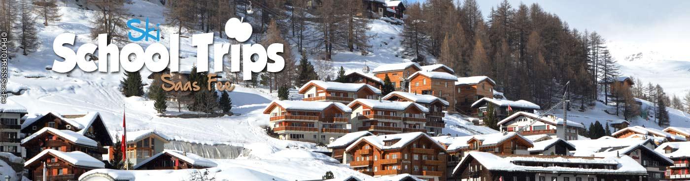 Saas Fee school ski trips