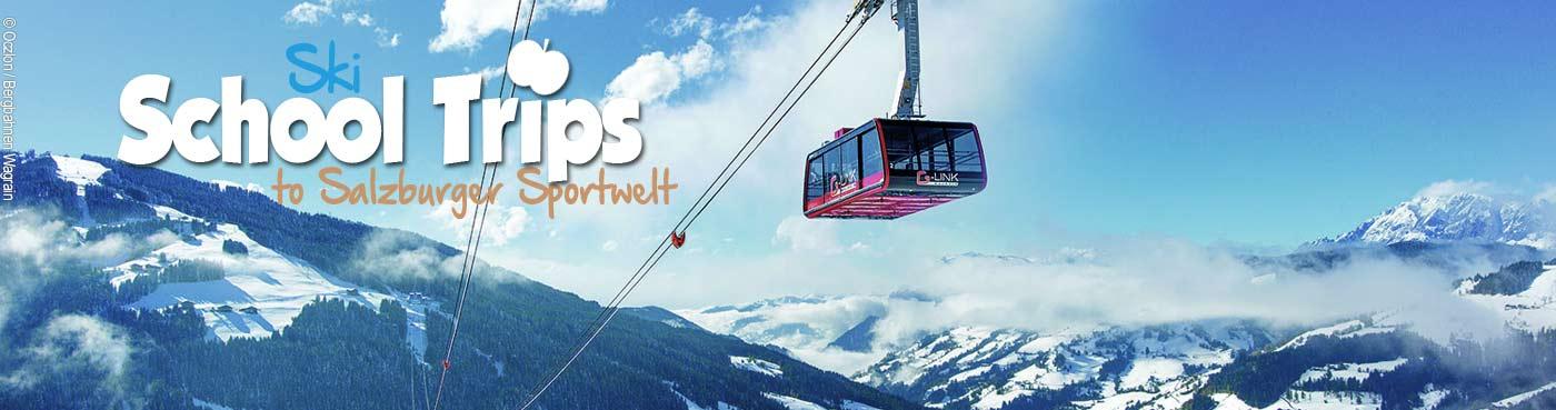 Salzburger Sportwelt school ski trips