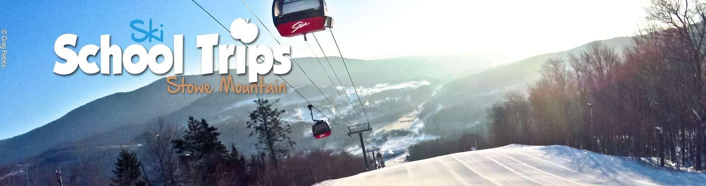 Stowe school ski trips