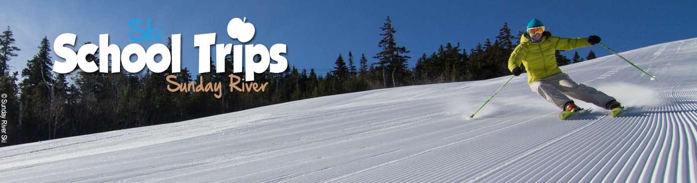 Sunday River school ski trips
