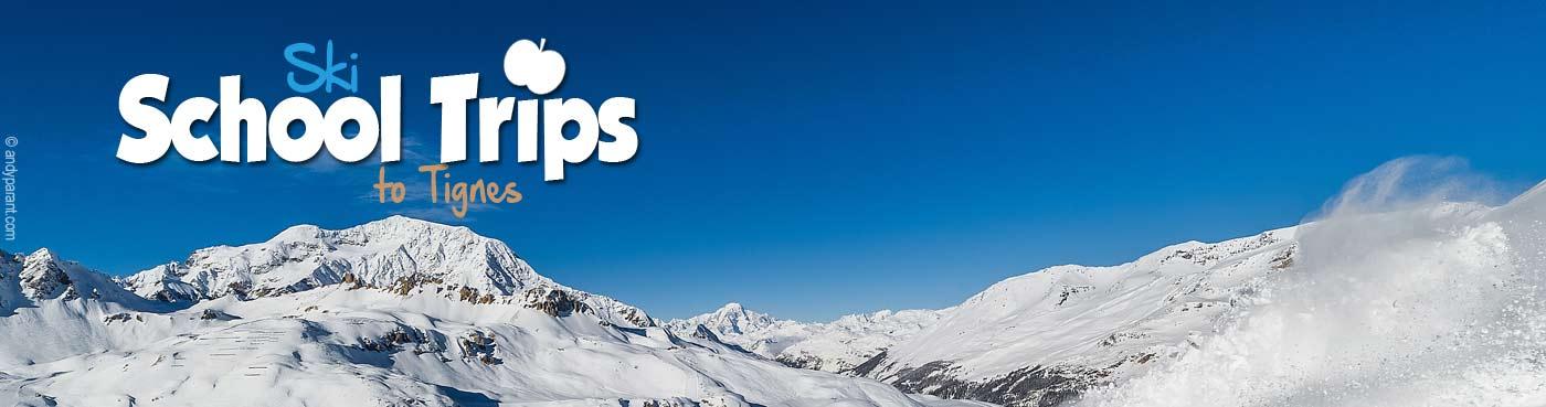 Tignes school ski trips