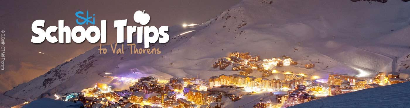 Val Thorens school ski trips