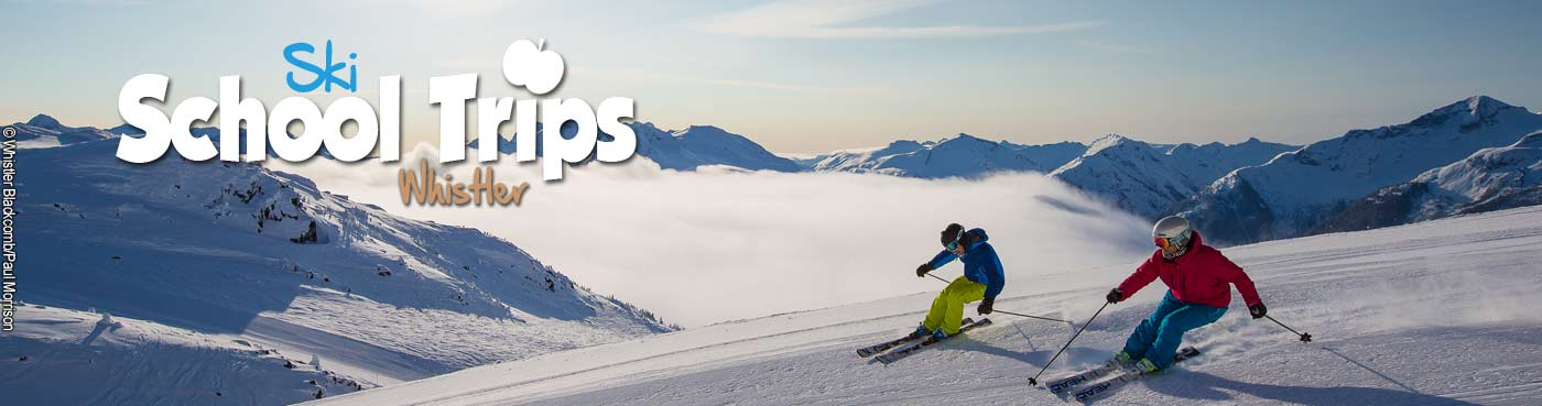 Whistler school ski trips