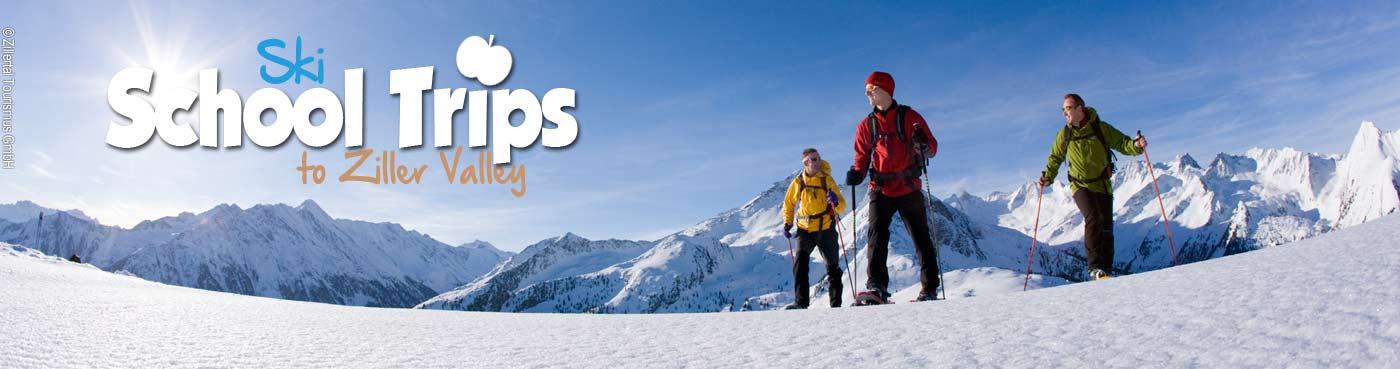 Ziller Valley school ski trips