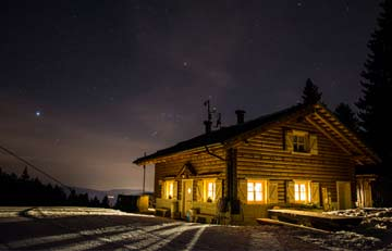 folgaria night time skiing